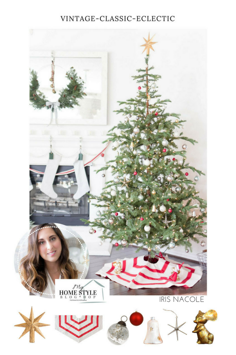 My Home Style Blog Hop-Christmas Tree Edition-IrisNacole