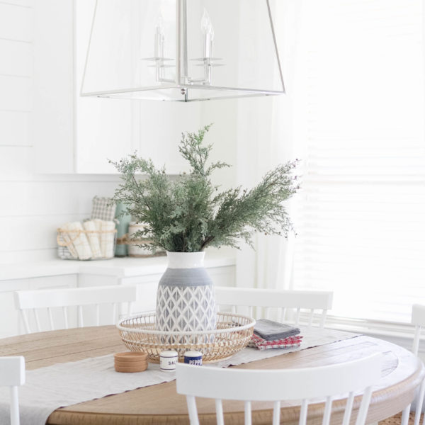 Casual Dining Room Decor Ideas: All Is Calm In The Dining Room-Holiday Decorating Ideas