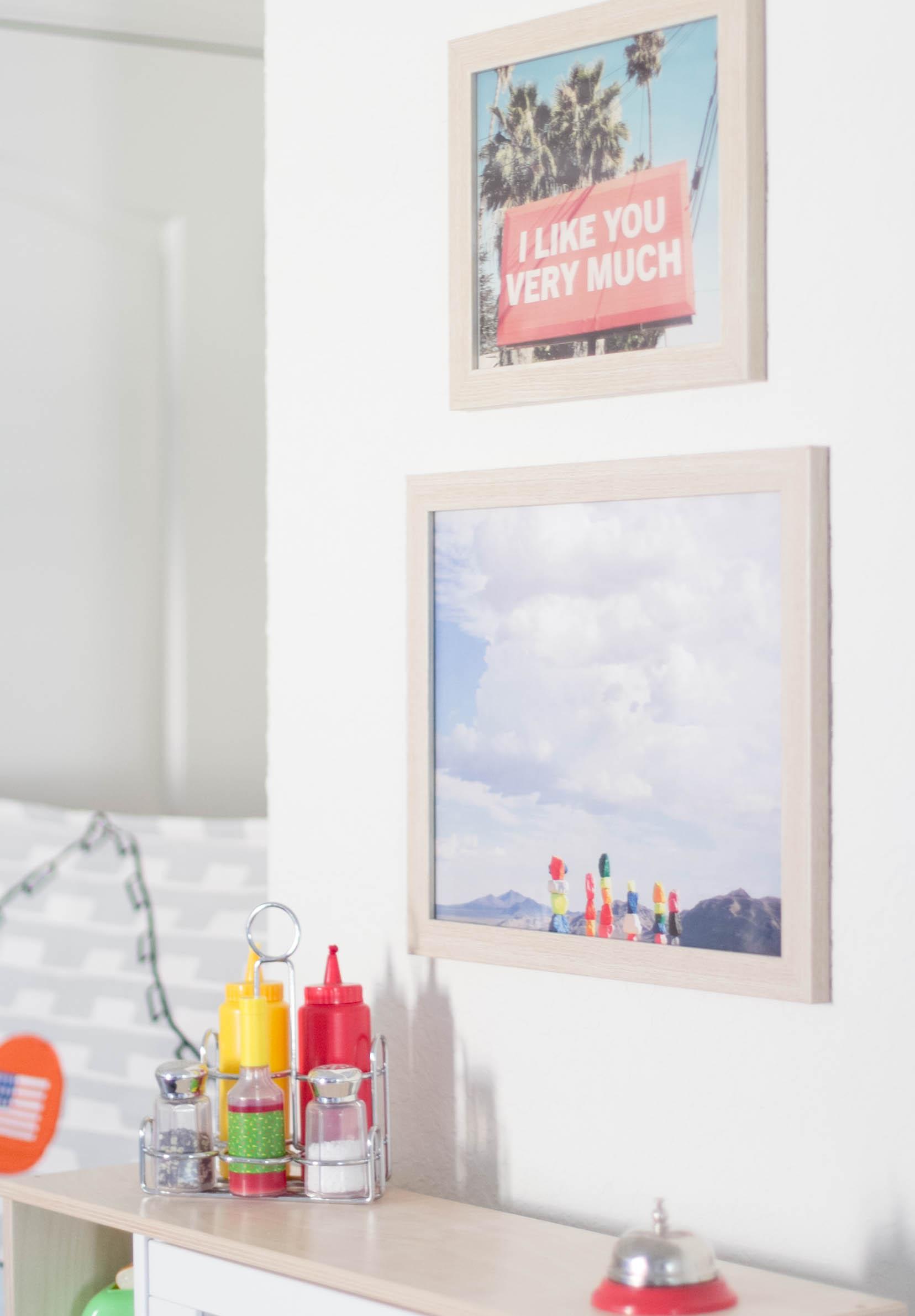 Jenny's Print Shop Framed Prints-Playroom Makeover by Iris Nacole