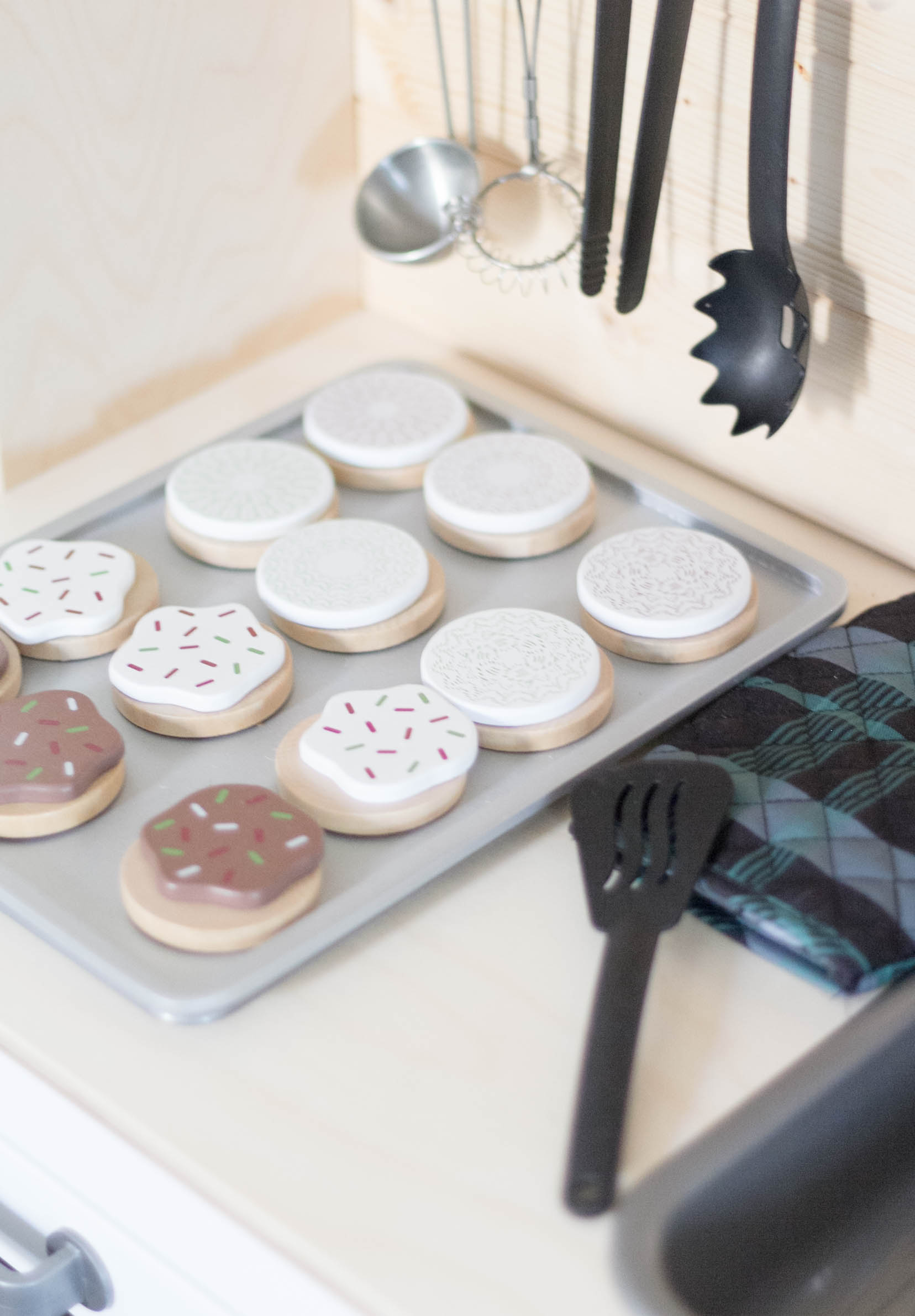 Hearth & Hand Play Cookie Set-Playroom Makeover by IrisNacole.com